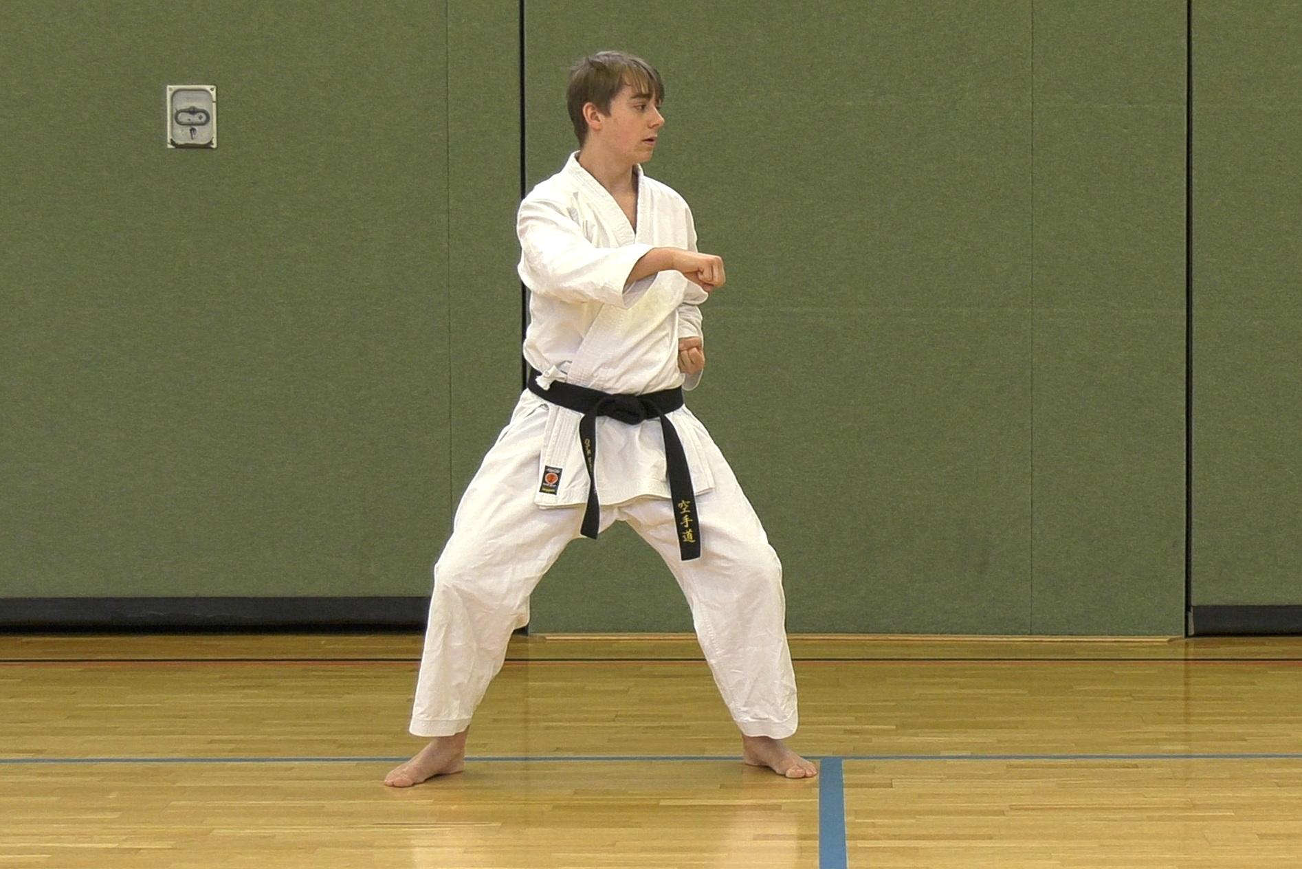 Course Image Tekki Shodan